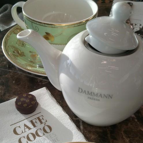 Farewell Dammann tea - Amsterdam Airport